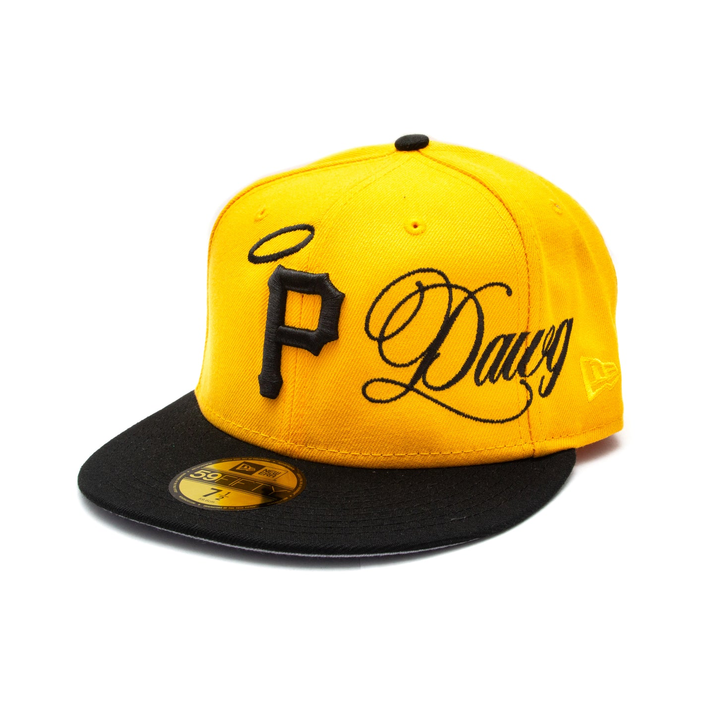 ALL DAWGS GO TO HEAVEN NEW ERA HAT: YELLOW/BLACK