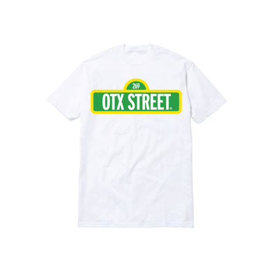 OTX STREET TODDLER TEE: WHITE/GREEN