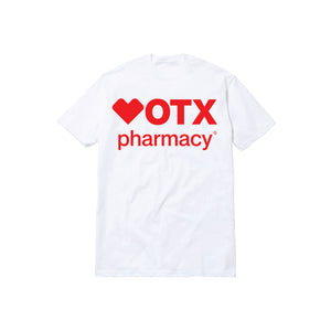 PHARMACY TEE: WHITE