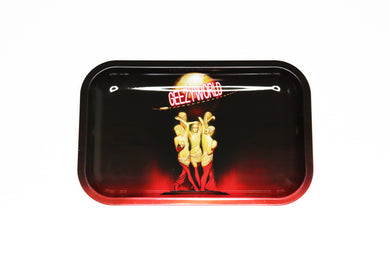 THE WORLD IS YOURS ROLLING TRAY