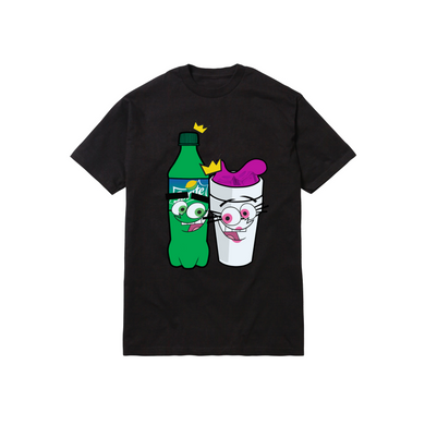 DIRTY SPRITE PARENTZ TEE: BLACK