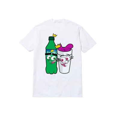 DIRTY SPRITE PARENTZ TEE: WHITE