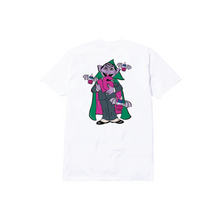 Load image into Gallery viewer, COUNT DRACULA TEE: WHITE