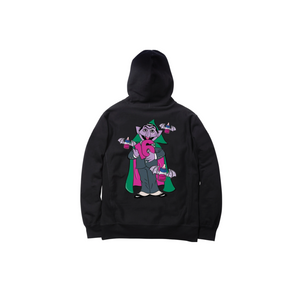 COUNT DRACULA PULLOVER HOODY: BLACK
