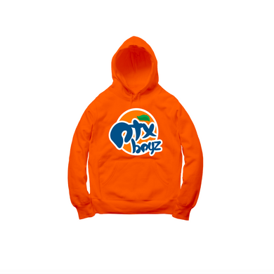 ORANGE SODA PULLOVER HOODY: ORANGE