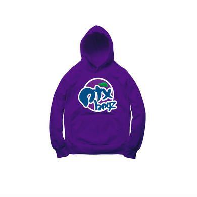 GRAPE SODA PULLOVER HOODY: PURPLE