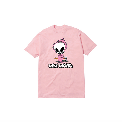 TODDLER DEATH TEE: PINK