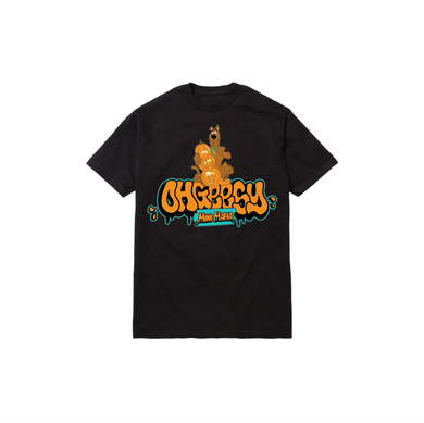 SKOOB THROWIE TODDLER TEE: BLACK