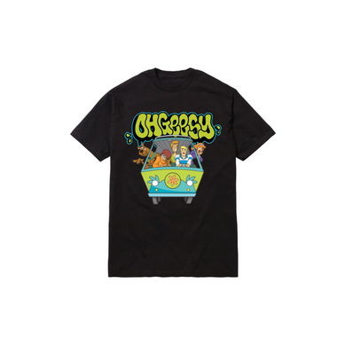 GANG THROWIE TODDLER TEE: BLACK