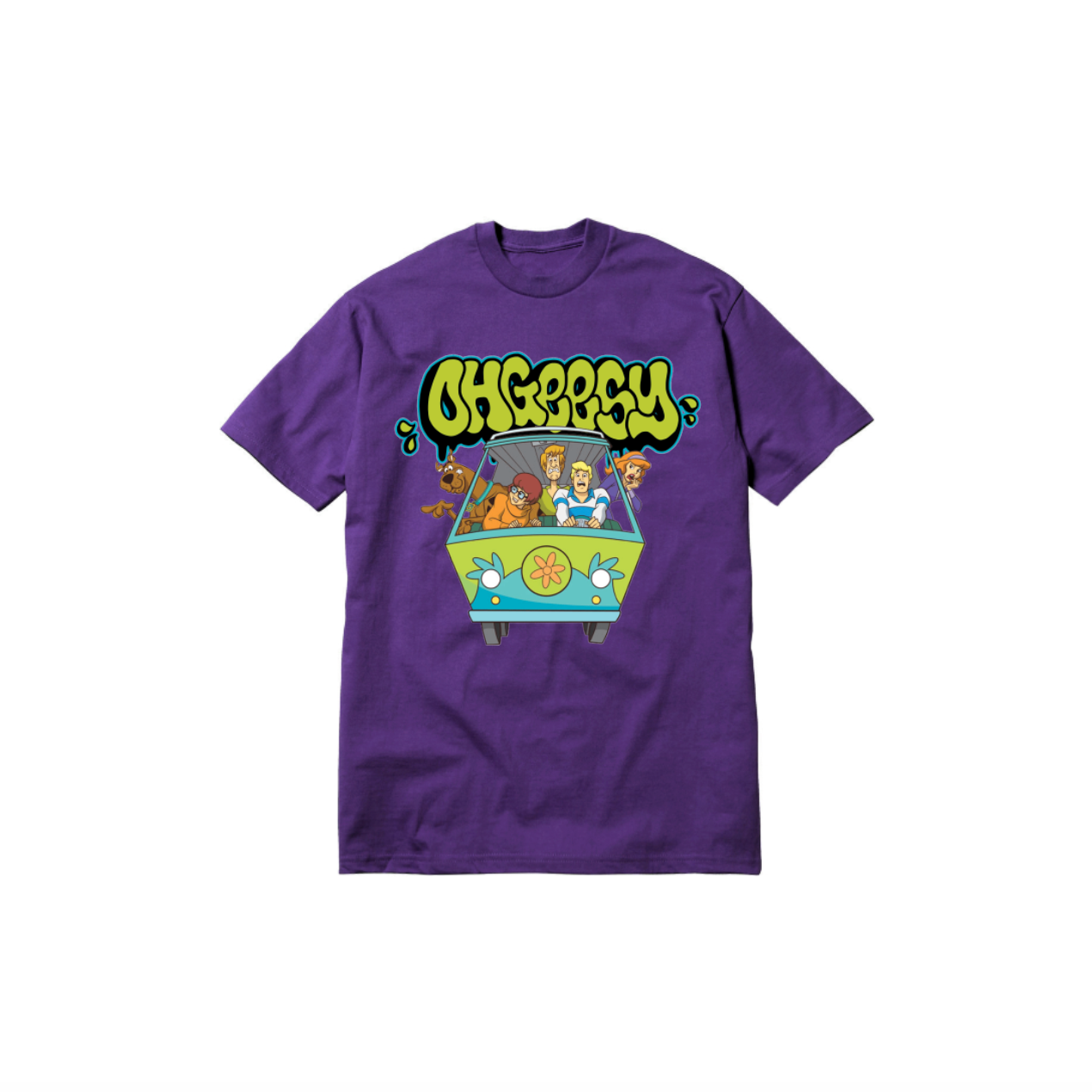GANG THROWIE TODDLER TEE: PURPLE