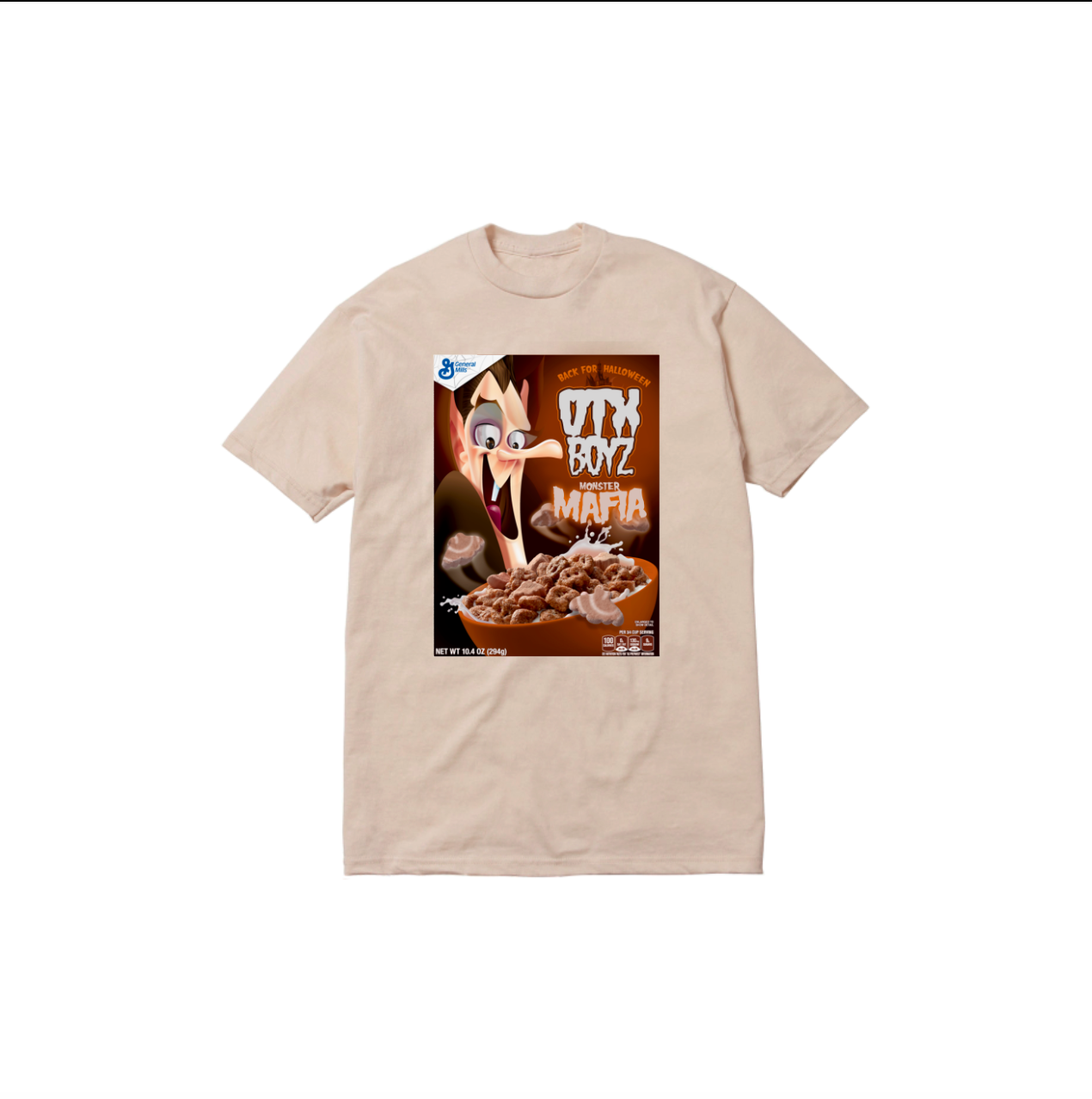 COUNT CHOC TEE: TAN