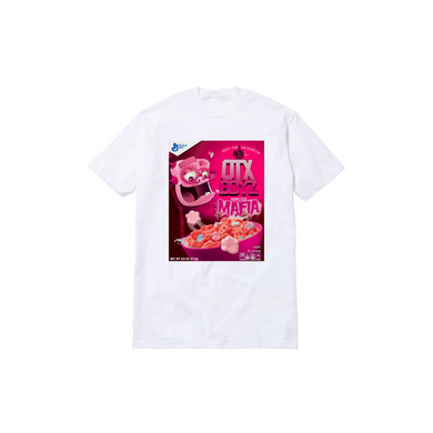 FRANKY CEREAL TEE: WHITE