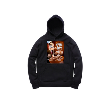 MINI COUNT CHOC TODDLER PULLOVER HOODY: BLACK