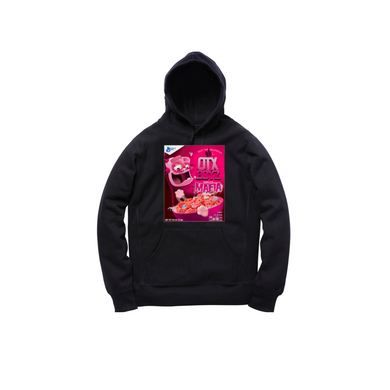 MINI FRANKY CEREAL TODDLER PULLOVER HOODY: BLACK