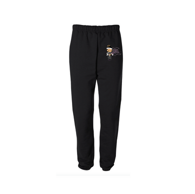 JOSHY FOREVER SWEATPANTS: BLACK