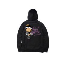 Load image into Gallery viewer, JOSHY FOREVER PULLOVER HOODY: BLACK