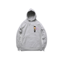 Load image into Gallery viewer, JOSHY FOREVER PULLOVER HOODY: HEATHER GREY