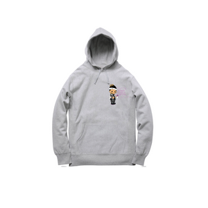 JOSHY FOREVER PULLOVER HOODY: HEATHER GREY