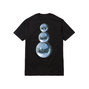 CHROME SNOWMAN TEE: BLACK