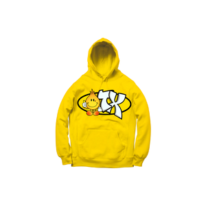 GEEZY INDUSTREETZ HOODY: YELLOW/ORANGE