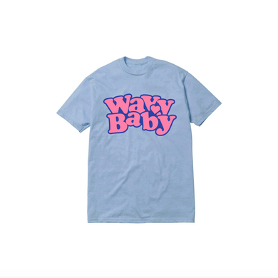 BABY TEE: BABY BLUE/PINK