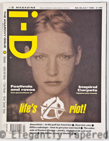 iD Magazine. the Anarchy Issue. No. 82. July 1990