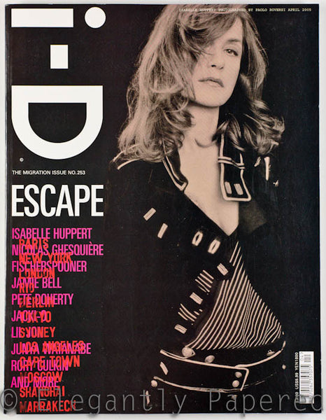 iD Magazine . The Migration Issue. No. 253. April 2005