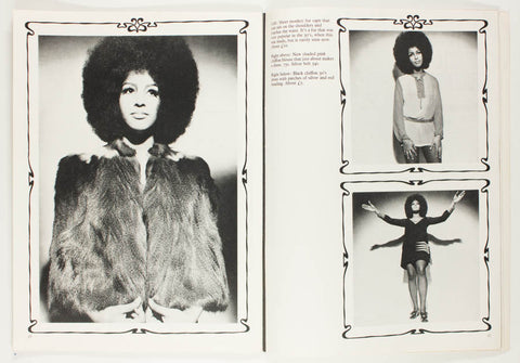 Marsha Hunt - the first black model to appear on the cover of Queen magazine and Mick Jagger's then girlfriend