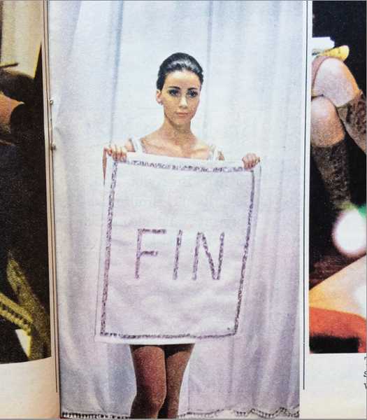 Here we have fashion from Courreges in Sunday Times Magazine Observer
