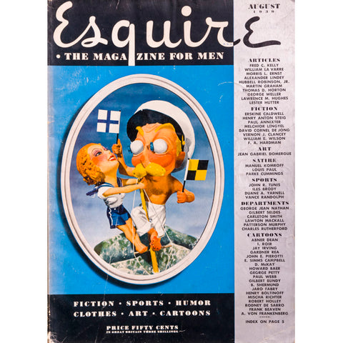 Fred C Kelly William La Varre Esquire Magazine USA August 1939
