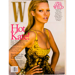 Kate Moss Kim Noorda Craig McDean W Magazine March 2005