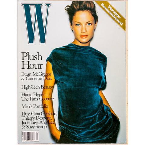 Carolyn Murphy Cameron Diaz Ewan McGregor W Magazine September 1997