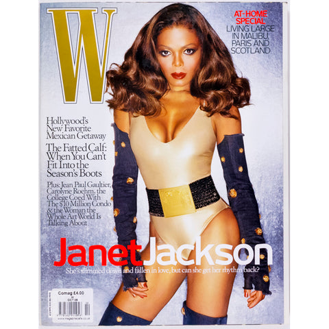 Janet Jackson Jean Paul Gaultier W Magazine October 2006