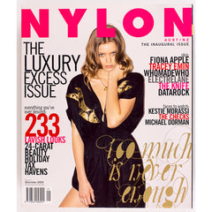 ABBEY LEE Fiona Apple TRACEY EMIN NYLON magazine December 2005
