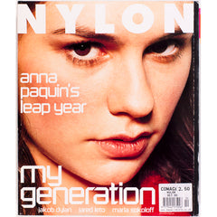 ANNA PAQUIN Jared Leto JAKOB DYLAN NYLON magazine October 2000