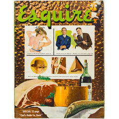 Thanksgiving Dish Esquire USA November 1948