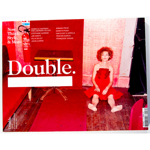 Isabelle Hubbert Juergen Teller DOUBLE Magazine ISSUE 16 Autumn 2008
