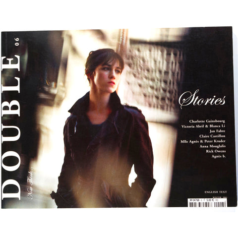 Charlotte Gainsbourg Agnes B DOUBLE Magazine ISSUE 6 winter 2004