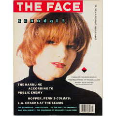 Bridget Fonda Public Enemy James Ellroy The Face July August 1988