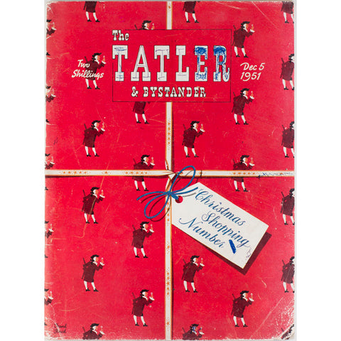 Christmas Shopping The Tatler Magazine 5th December 1951