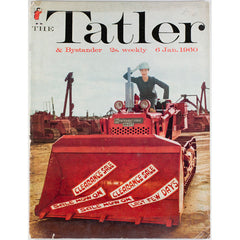 Bulldozer January Sales after Christmas The Tatler Magazine 6th January 1960