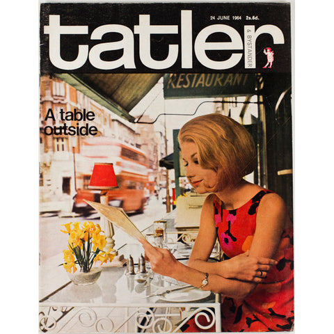 A Table Outside Tatler 24th June 1964