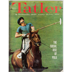 The Social Rise of Polo The Tatler 25th July 1962