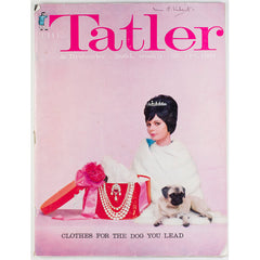 Clothes for the dog you lead Tatler Magazine 25th October 1961