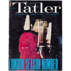 Picasso London Season Number Tatler Magazine 11th April 1962