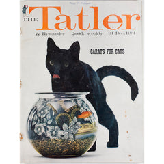 Jewels in a fish bowl Black Cat Tatler Magazine 13th December 1961