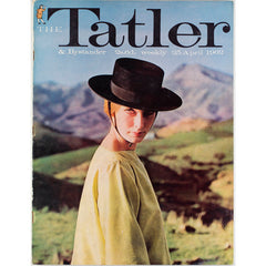 Goucho Peter Ustinov The Tatler UK 25th April 1962