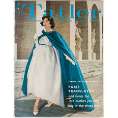 Paris translated and Rome too Tatler Magazine 11th March 1959