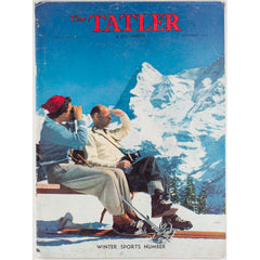 Winter Sports Tatler Magazine 12th November 1952