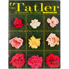 Roses The Tatler Magazine 12th August 1959